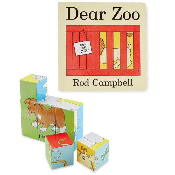 dear zoo book and puzzle