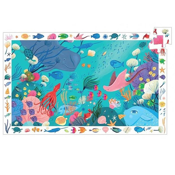 aquatic observation puzzle - 54 piece