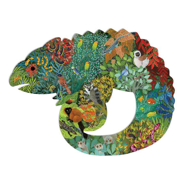 chameleon art puzzle - 150 pieces