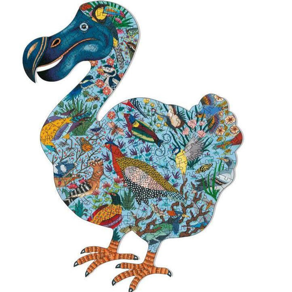 dodo bird art puzzle - 350 pieces