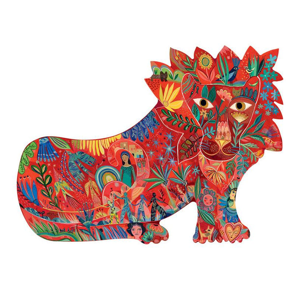 lion art puzzle - 150 pieces