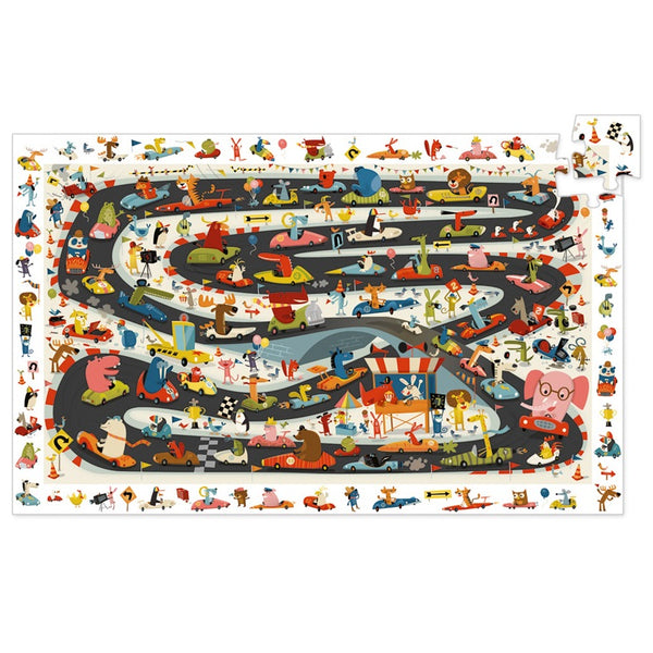 car rally observation puzzle - 54 piece