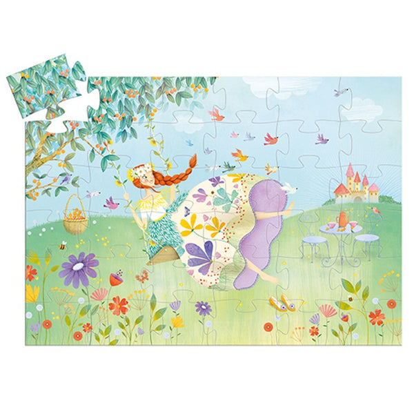 princess of the spring puzzle - 36 piece