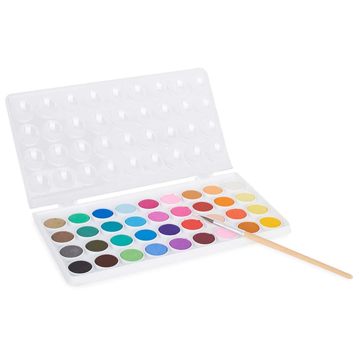 watercolour paint set - 36 colours