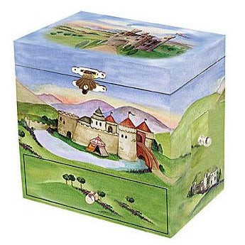 'dragon castle' music box