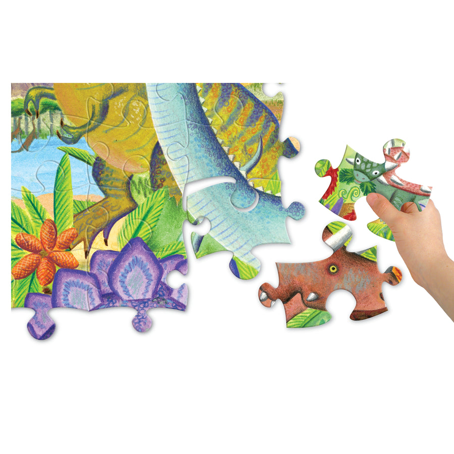age of the dinosaurs puzzle - 100 piece