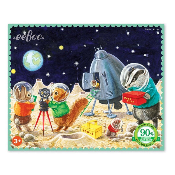 on the moon mini puzzle - 36 piece