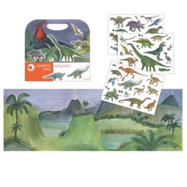 magnetic playset - dinosaur
