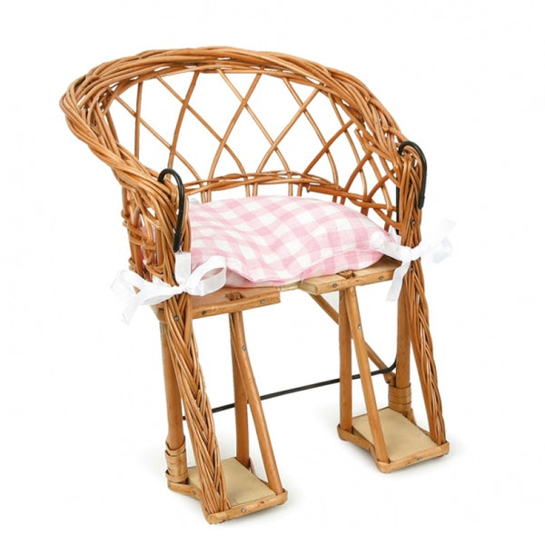 wicker bike doll seat
