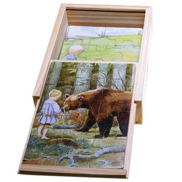 'folk songs' boxed puzzles - set of 4, 12 piece