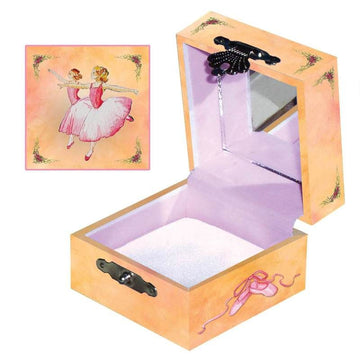treasure box; ballerina