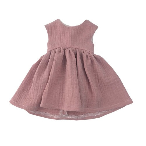 dusty rose dress - 38cm