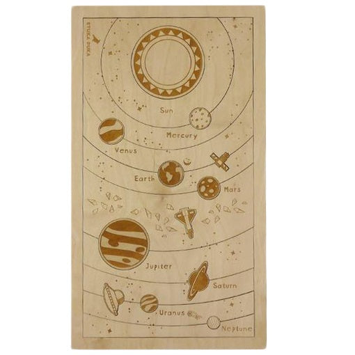 everything under the sun; solar system puzzle