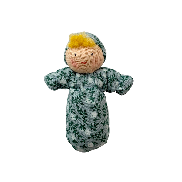 mini baby doll - blue floral