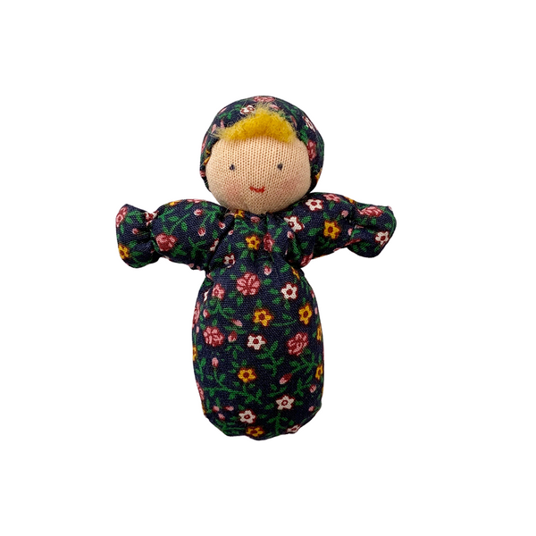mini baby doll - navy floral