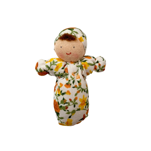 mini baby doll - yellow floral