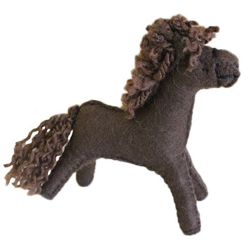 horse - dark brown