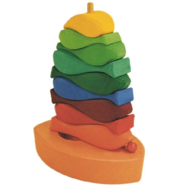 fish stacking tower