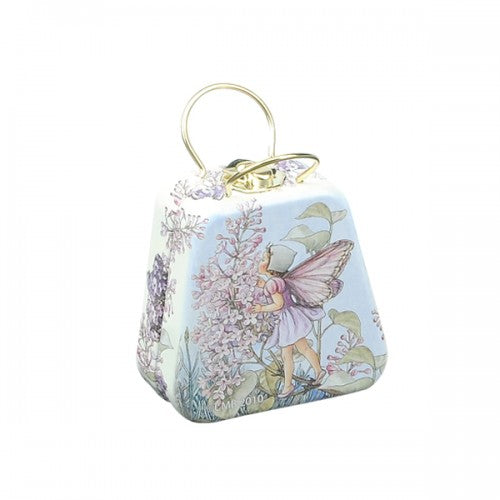 flower fairy mini tin bag - lilac