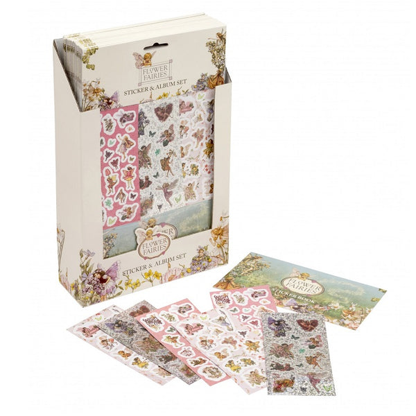 flower fairy stickers and sticker album