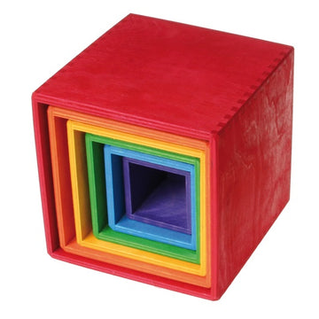 coloured stacking boxes - large
