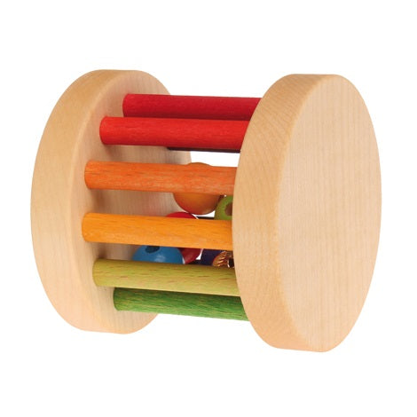 mini rolling bell rattle