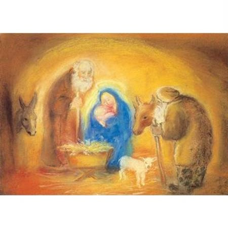 holy family postcard