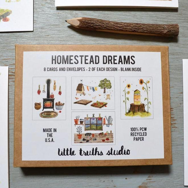 homestead cards and envelope set