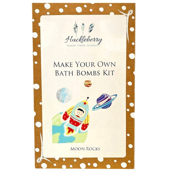 make your own bath bombs kit - moon rocks