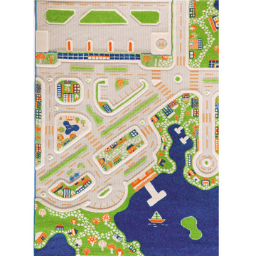 mini city play rug; large (pre-order)