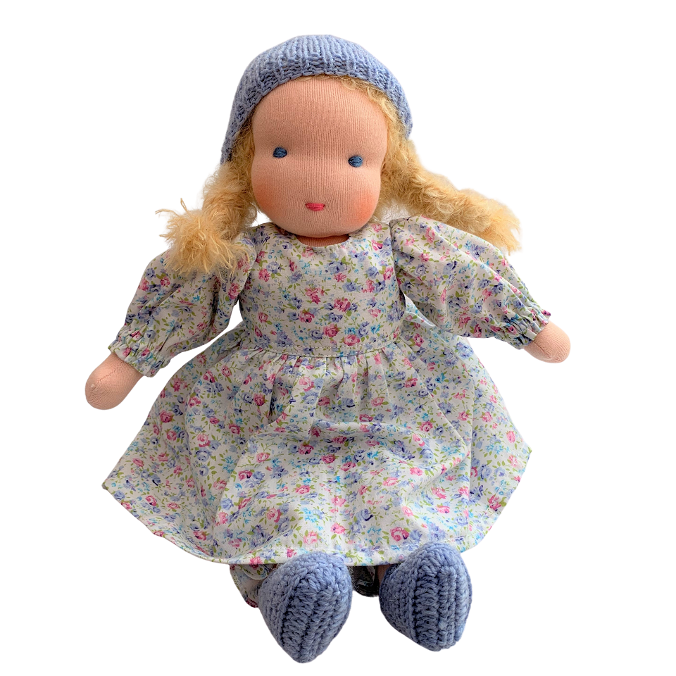 katie - waldorf girl doll with blonde hair (various)