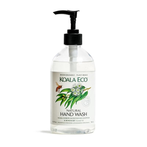 lemon, eucalyptus & rosemary hand wash