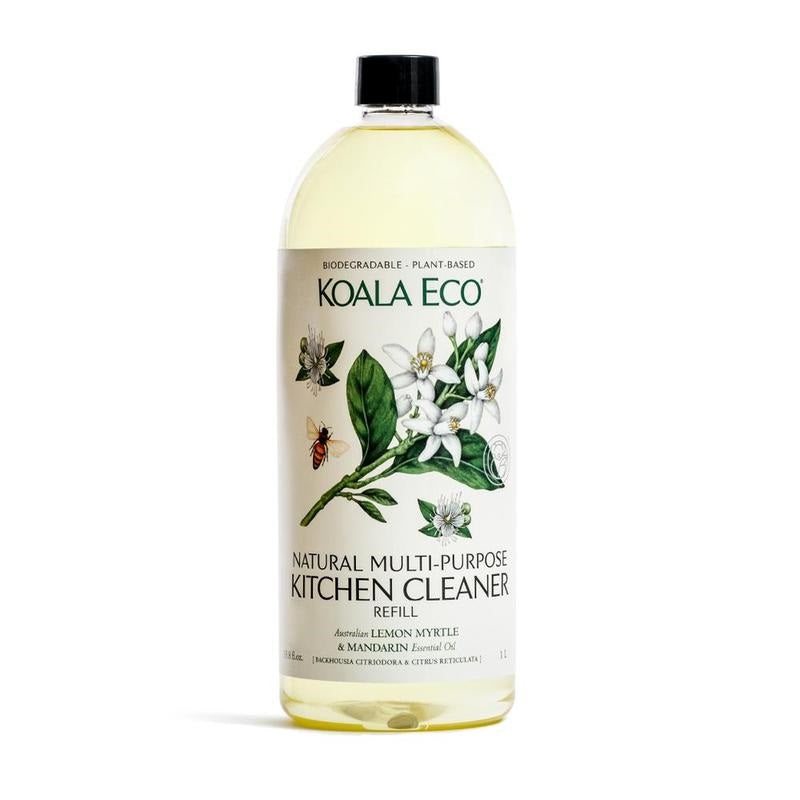 refill: lemon myrtle & mandarin multi-purpose kitchen cleaner