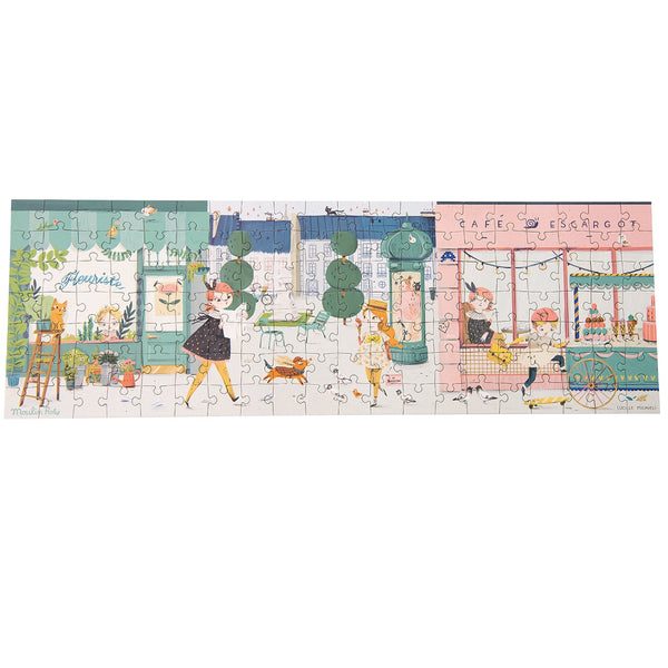 in the streets of paris -  140 piece