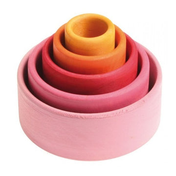nesting / stacking bowls; lollipop