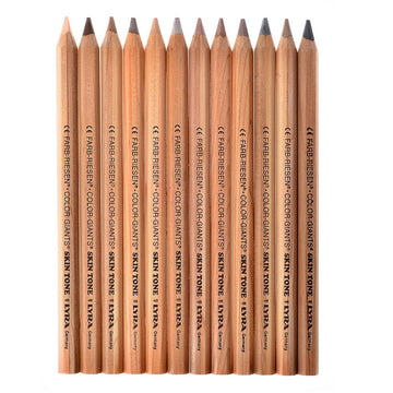 skin-tone coloured pencils