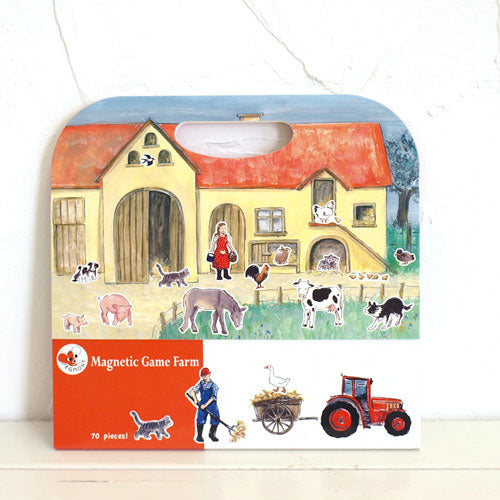 magnetic playset - farm