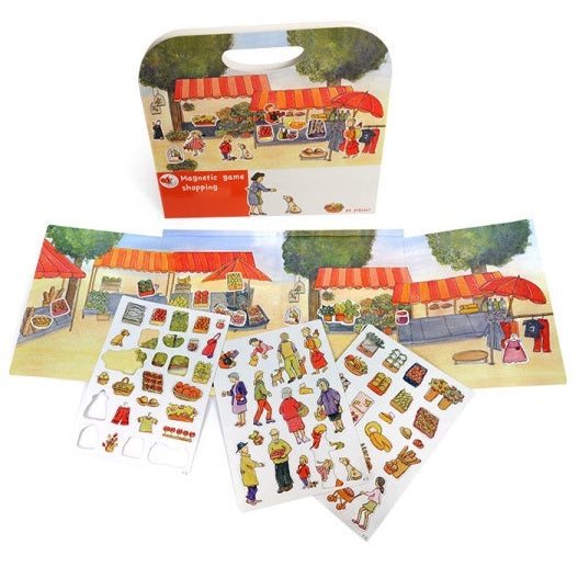 magnetic playset - market