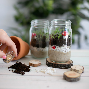handmade mini garden kit
