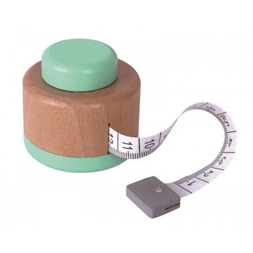 wooden tape measure