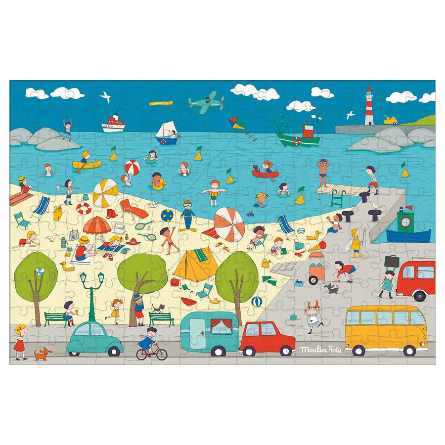 at the seaside puzzle - 150 piece