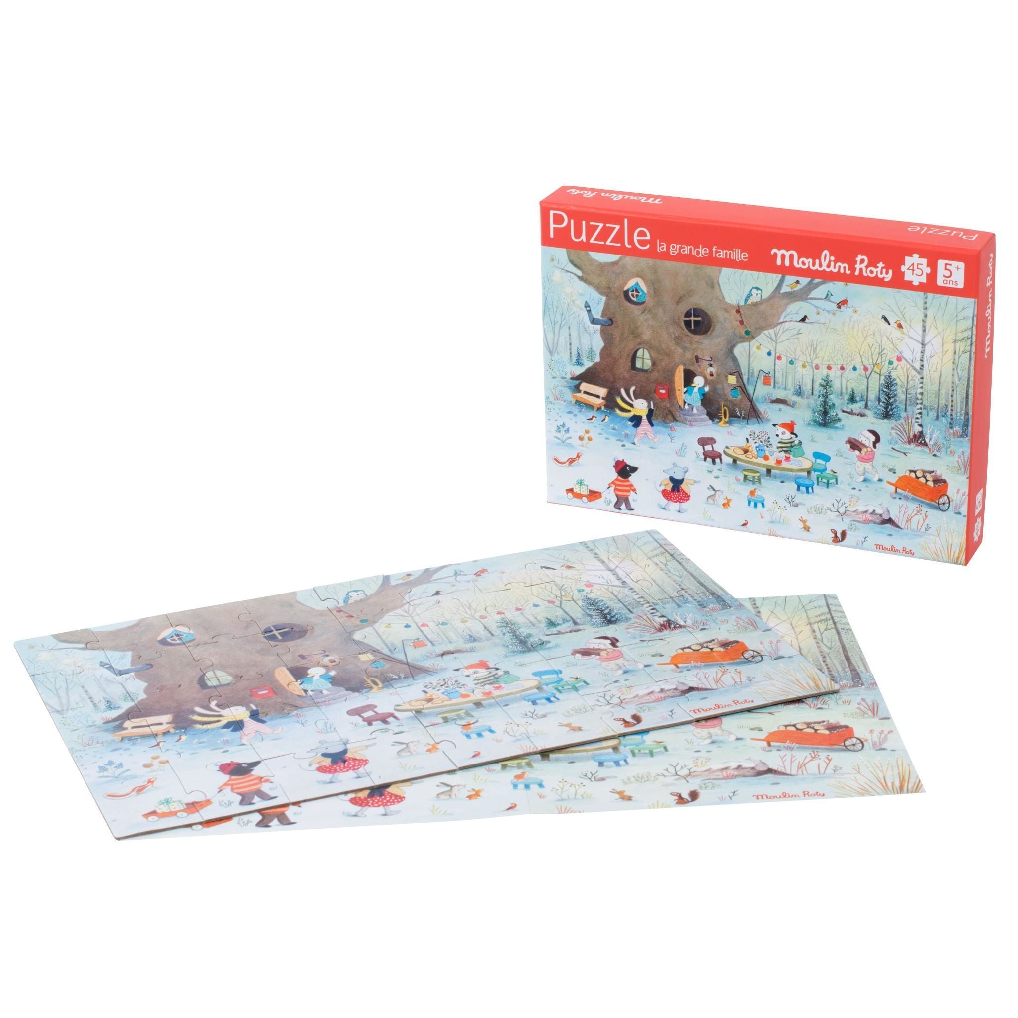 winter puzzle - 45 piece