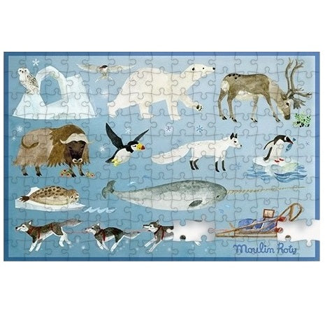 the arctic mini puzzle -  150 piece