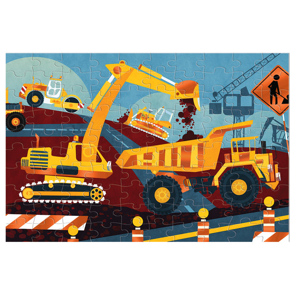 construction site puzzle - 100 piece