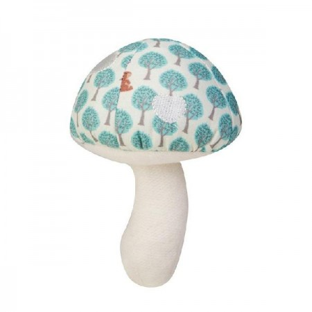 toadstool rattle - blue forest