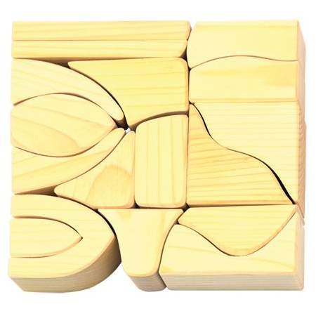 natural wooden blocks