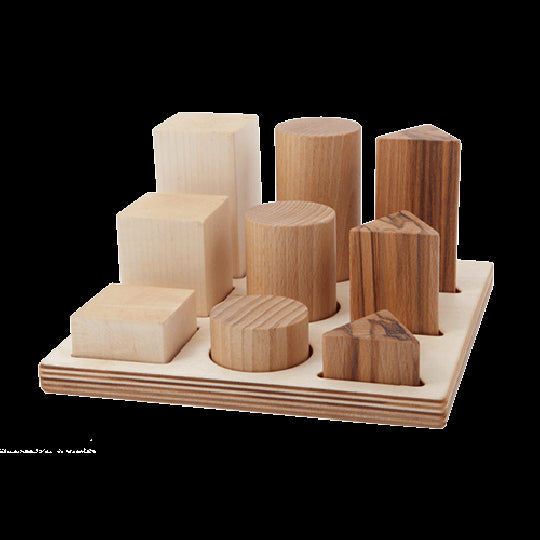 natural shape sorter board