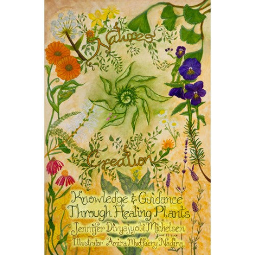 knowledge & guidance through healing plants (book and cards set)