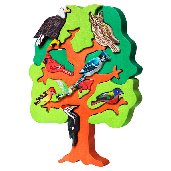 north american bird puzzle