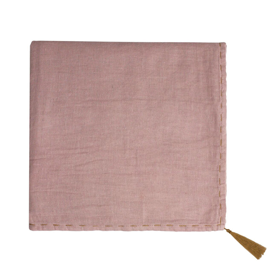 swaddle wrap - dusty pink